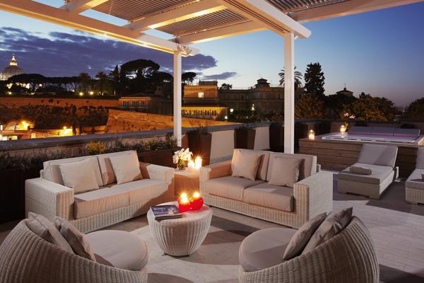 Gran Melia Rome Villa Agrippina The Eternal City Suite