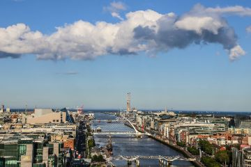 Dublin's up-and-coming dockyards area