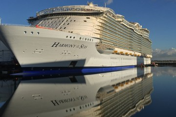 Glass Takes To The Ocean On Harmony Of Seas