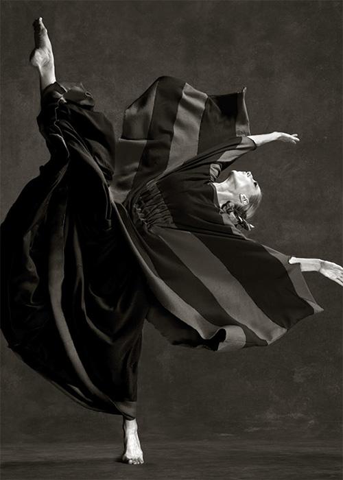 Katharine, the 'Cave,' Martha Graham dance company, New York City