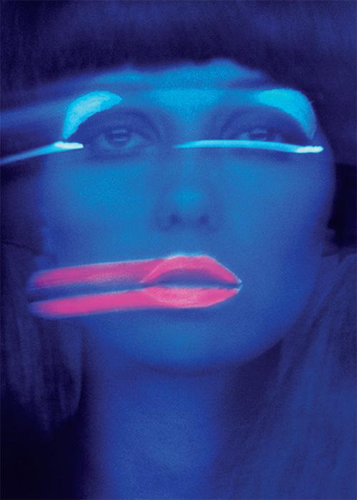 Lip Streaks, New York, Donna Mitchell
