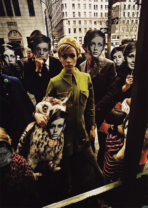 Twiggy FAO Schwarz, New York, 1967
