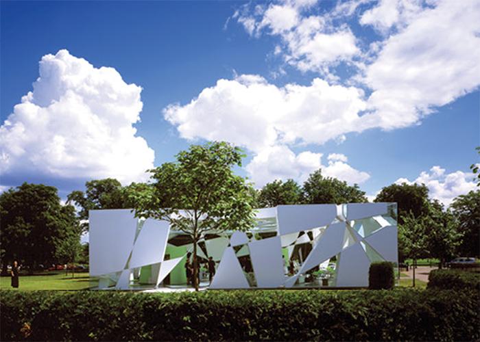 Serpentine Pavilion, London - UK Design by Toyo Ito & Arup, 2002