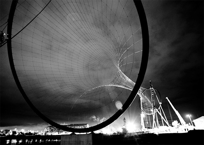 Temenos, Middlesbrough - UK. Design by Anish Kapoor & Cecil Balmond, 2010. Photograph Courtesy of Arup