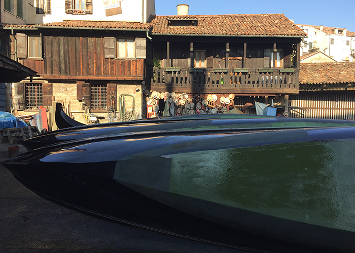 Story pic The Squero di San Trovaso boat yard