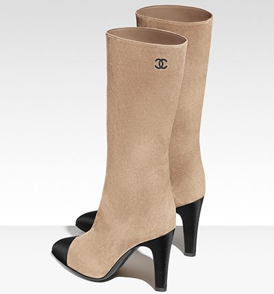 The new Chanel two-tone boot is debuted