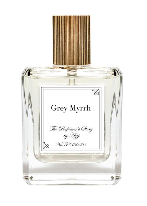 Grey Myrrh white Azzi Glasser