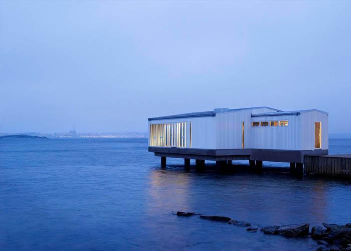 The spa at Gullmarsstrand