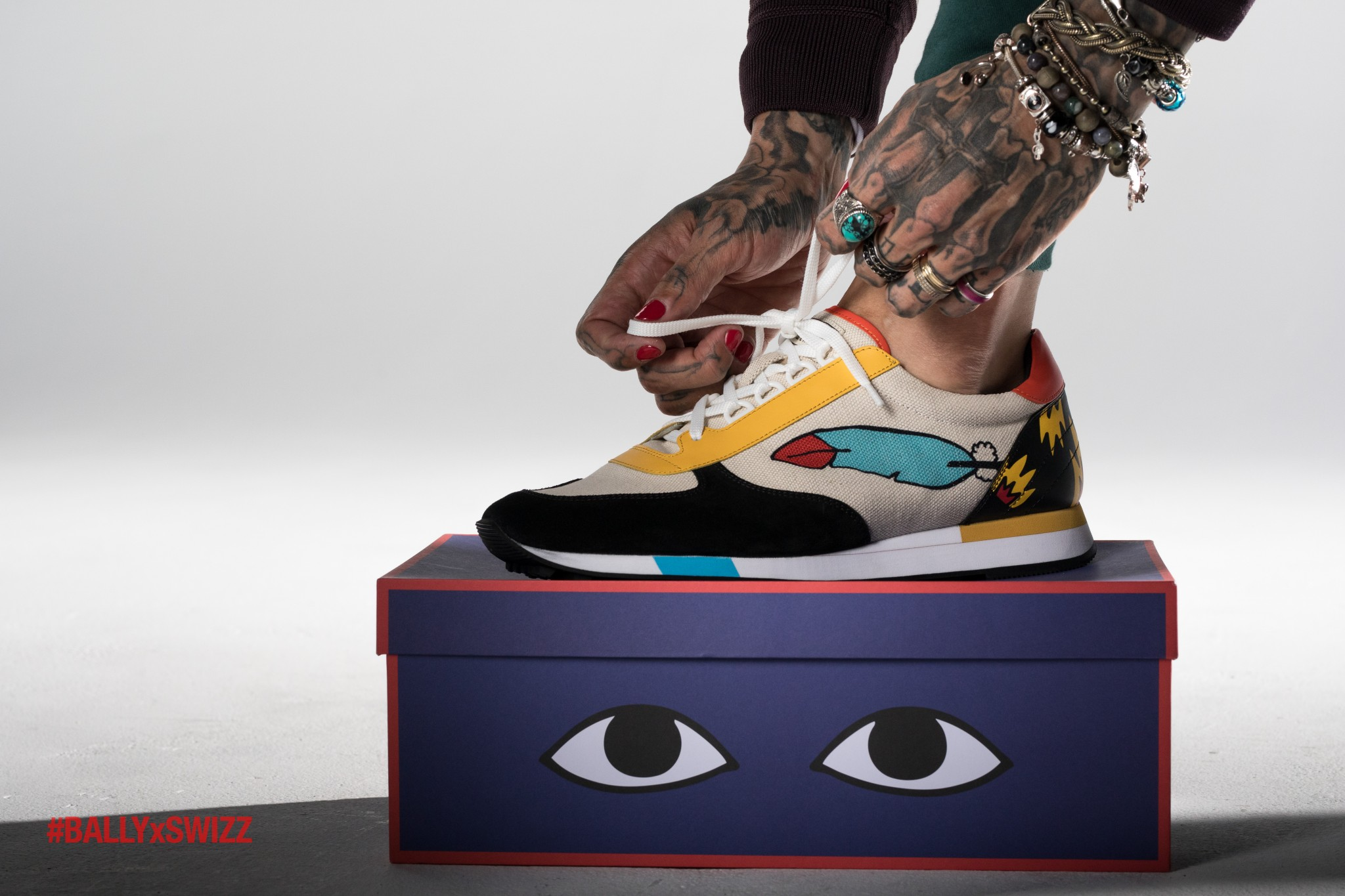0a7ed9c64eb Glass speaks exclusively with Swizz Beatz to discuss his collaboration with  Bally – The Glass Magazine