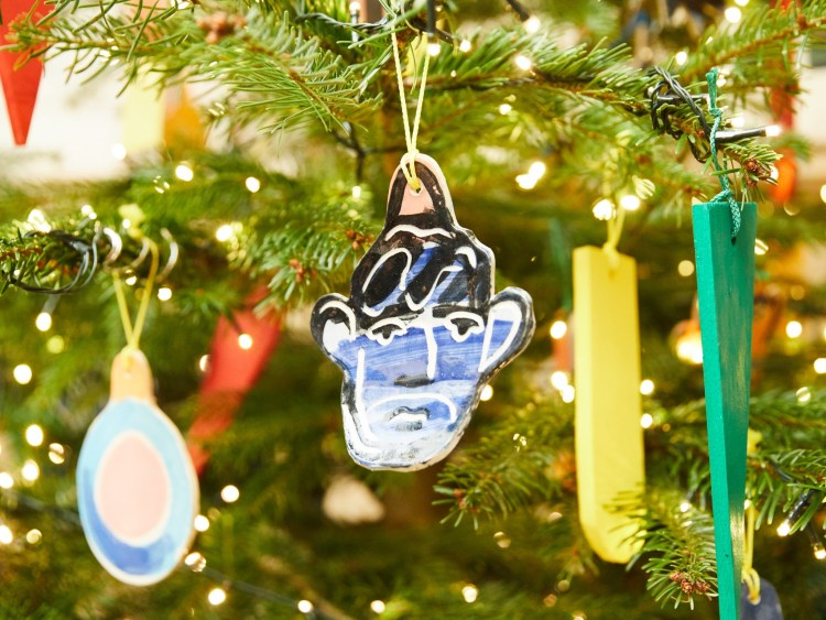 John booth Christmas tree at London Edition