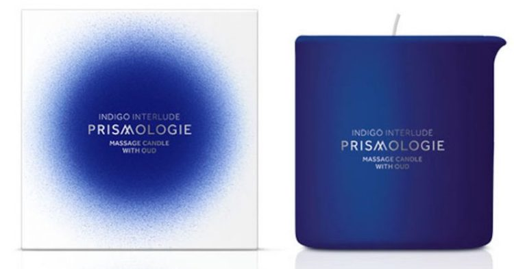 Prismologie Massage Candle with Oud
