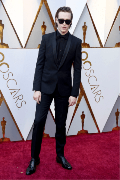 Caleb Landry Jones in Saint Laurent