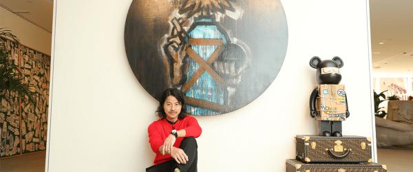 Michael Lau with SALVATOR MICHAEL