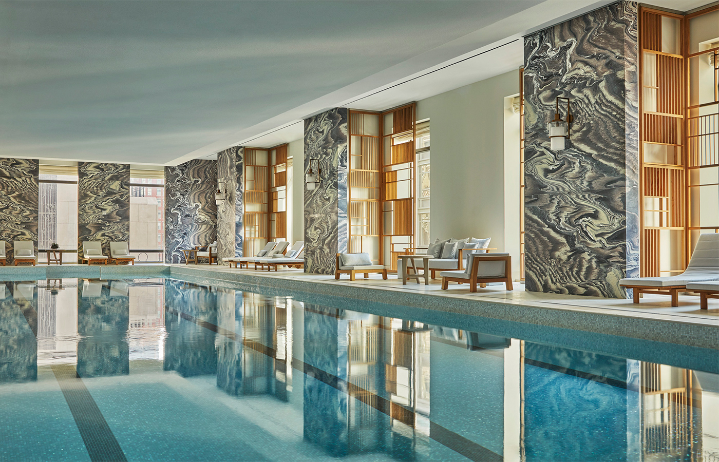 The Spa At Four Seasons Hotel New York Downtown Has Glass Enraptured The Glass Magazine