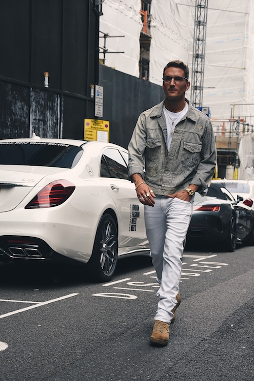 LFWM Street Style - Day 1 - Oliver Proudlock