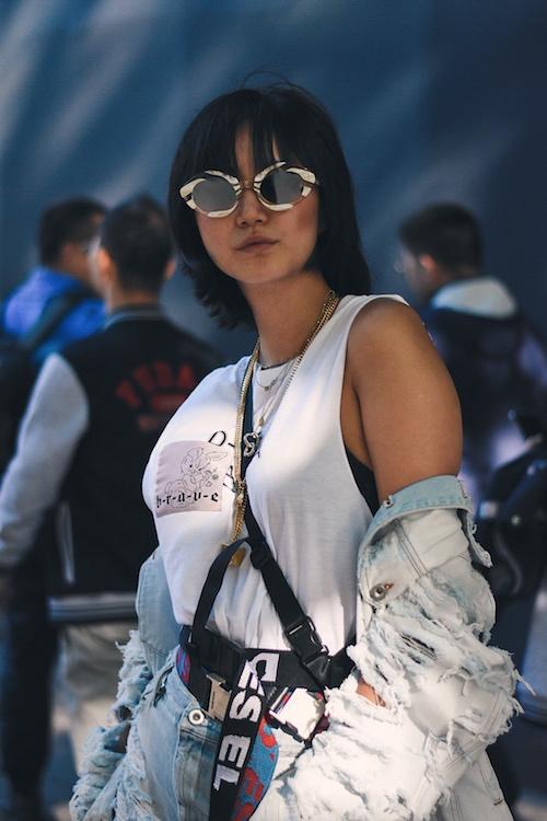 LFWM SS19 - Street Style - Betty Bachz