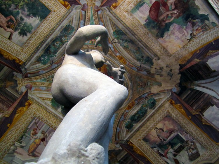 Inside the Rocca di Sala Baganaza