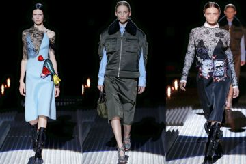 Prada MFW AW10 feature