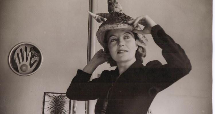 Eileen Agar wearing Bouillabaise hat