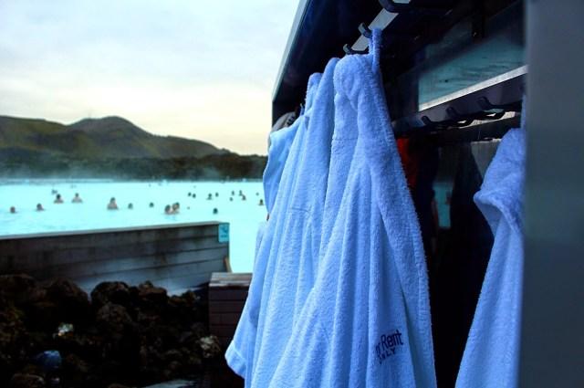 Bathrobes, Blue Lagoon, Iceland