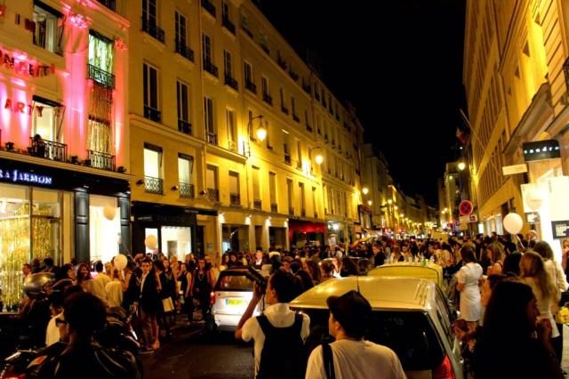 Rue Saint Honore, Vogue Fashion Night Out, Paris