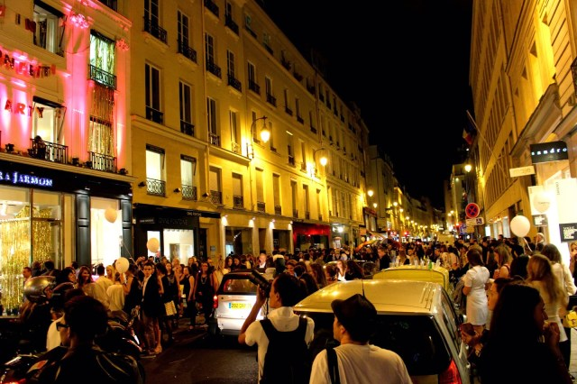 Rue Saint Honore, Vogue Fashion Night Out, Paris