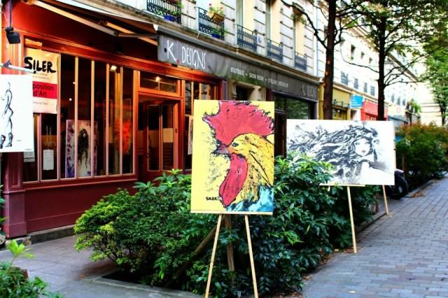 Art Gallery, Rue du Trésor, Marais, Paris