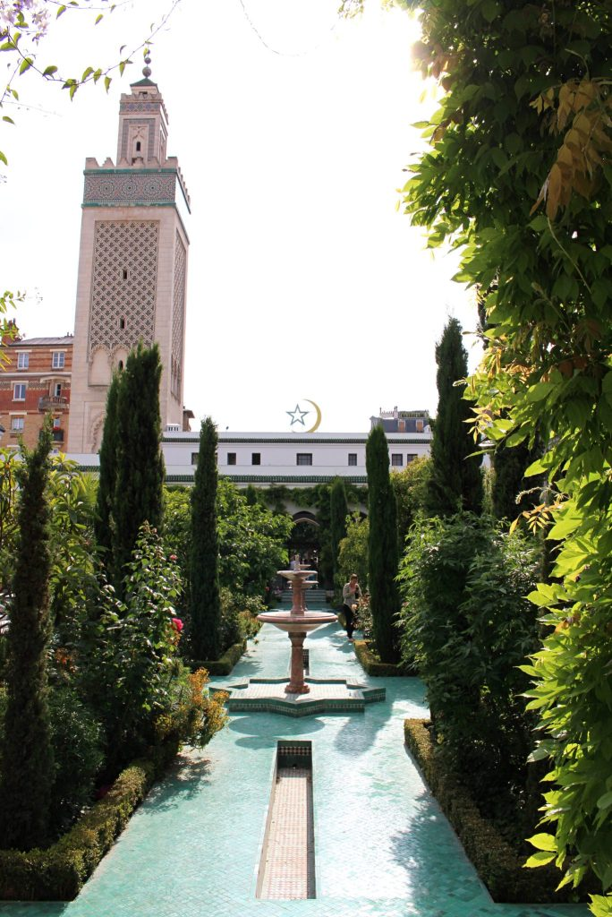 Gardens at the Grand Mosquee Paris