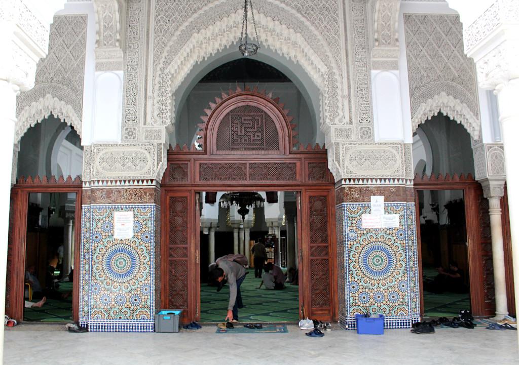 Prayer room Grand Mosquee Paris