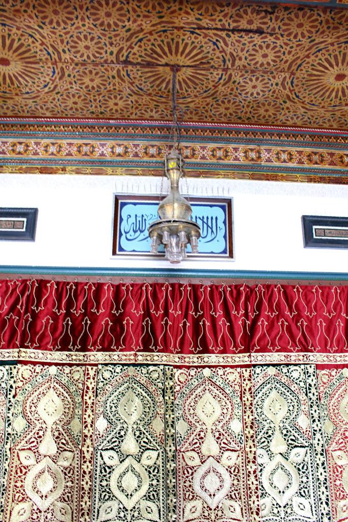 Sumptuous details Grand Mosquee Paris