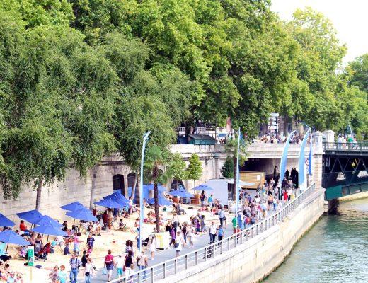 Paris Plages along the Seine