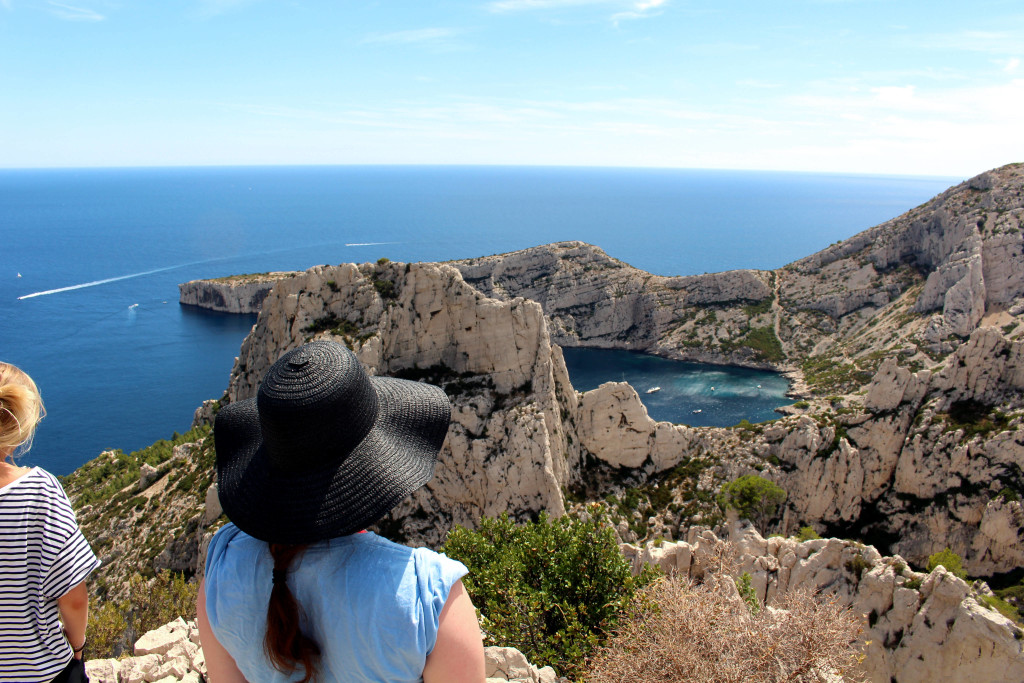 The Glittering Unknown, Calanques and Cassis, overlooking Calanque de Sugiton