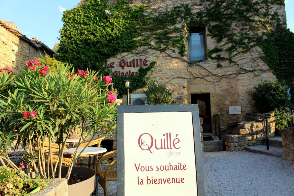 Miramas-le-Vieux, Le Quille glacier ice cream entrance