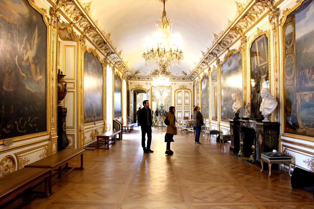 The Glittering Unknown Chantilly day trip chateau interior