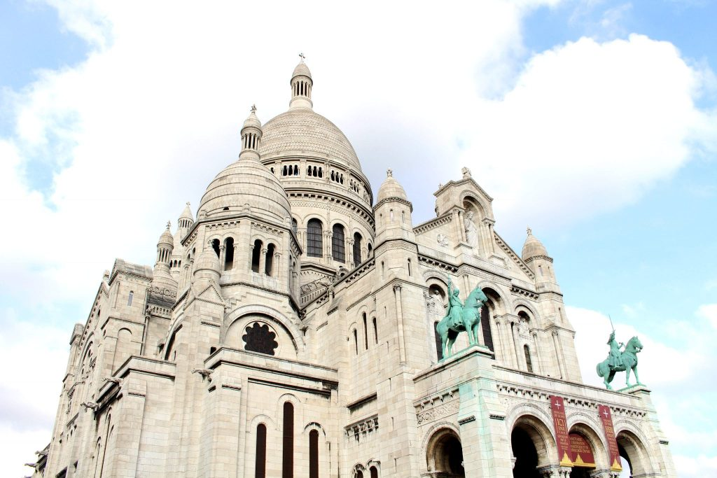 Sacre Coeur Basilica, Montmartre, Paris, The Glittering Unknown