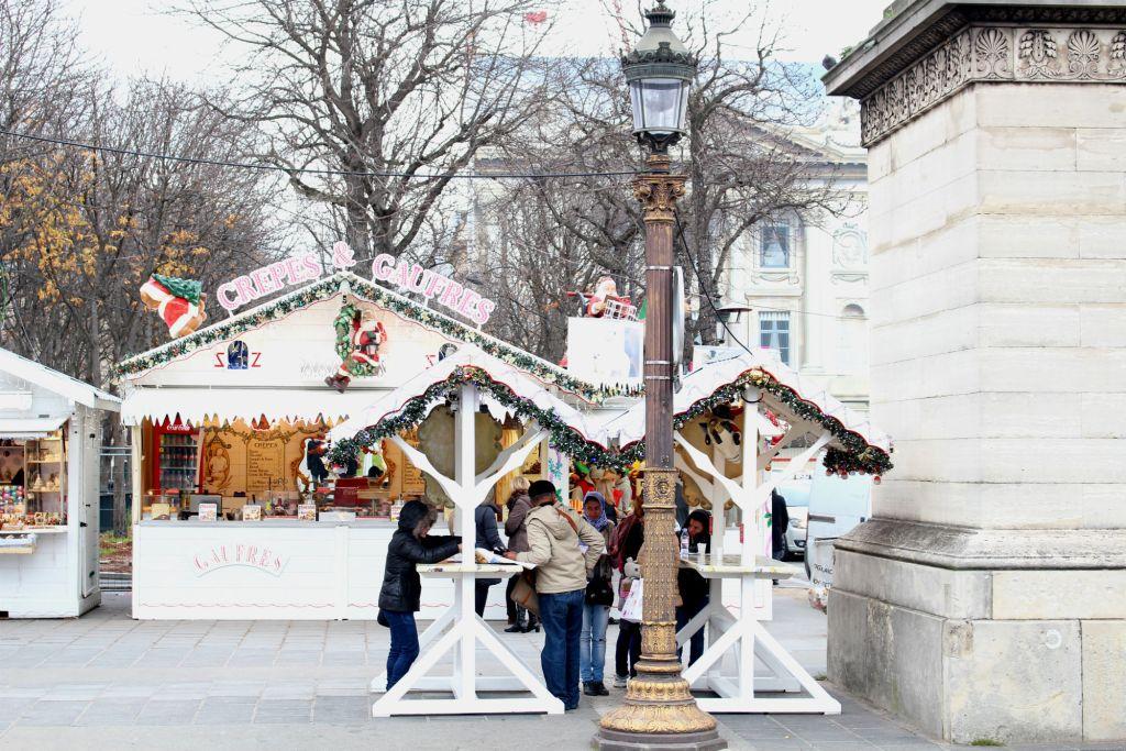 Christmas 2015, Marche de Noel 2, Christmas in Paris, The Glittering Unknown