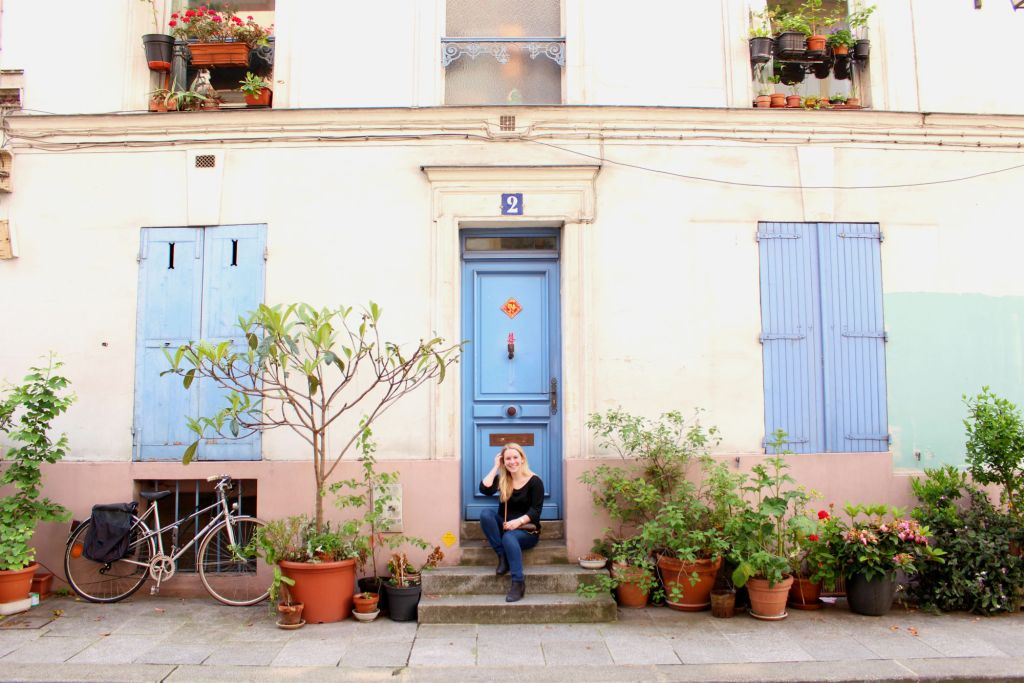 Rue Cremieux, Paris. The Instagram Lover's Tour of Paris |The Glittering Unknown