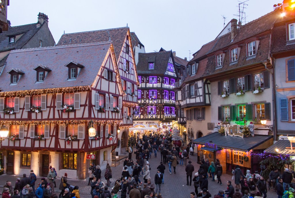 Christmas craziness in Colmar: A Christmas Getaway in Alsace (Strasbourg Christmas Markets)