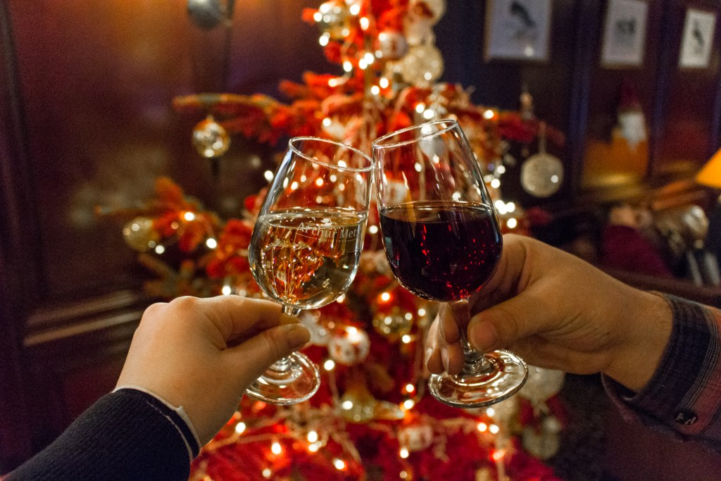 HappyTime aperitif with local Alsatian wine and a traditional kugelhopf: A Christmas Getaway in Alsace (Strasbourg Christmas Markets)