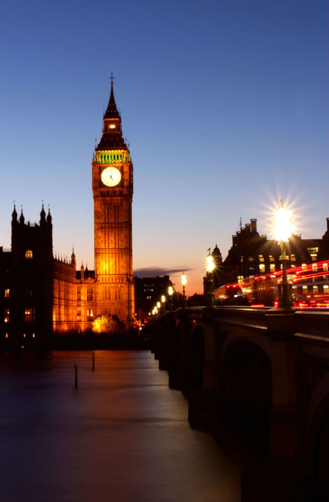 Westminster by night, Day Trip London