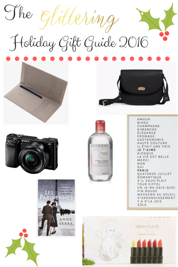 The Glittering Holiday Gift Guide 2016
