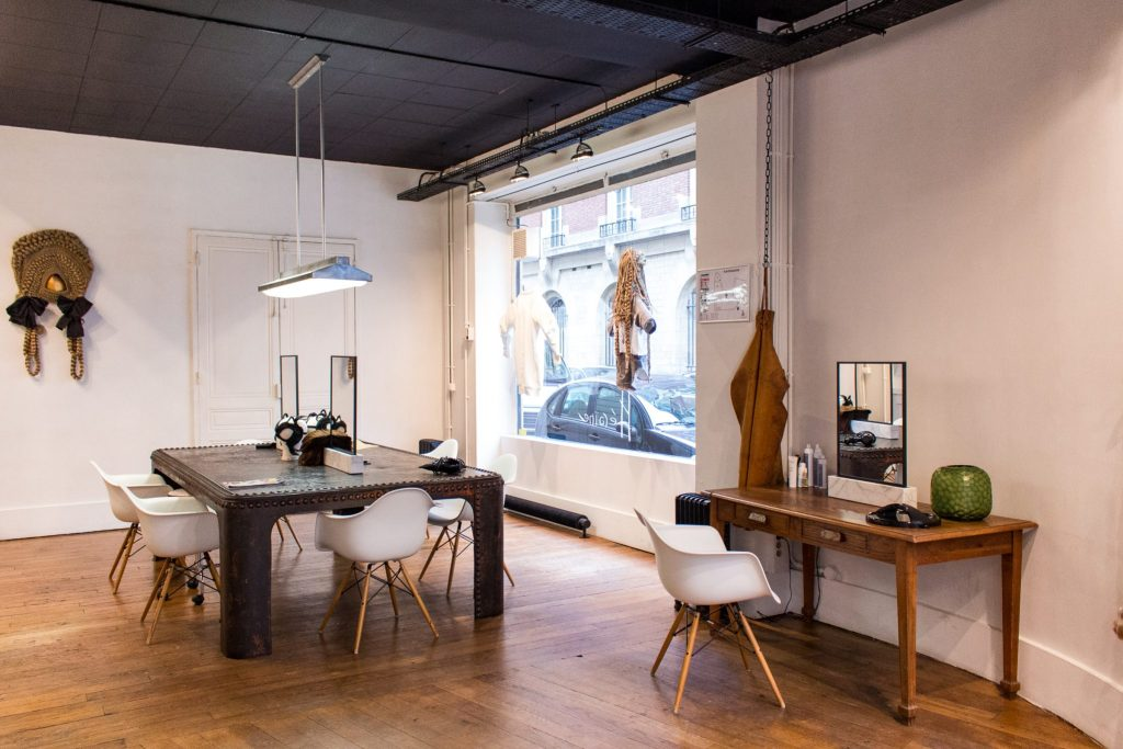 Studio Marisol, front of salon- The Best English Speaking Hair Salon in Paris