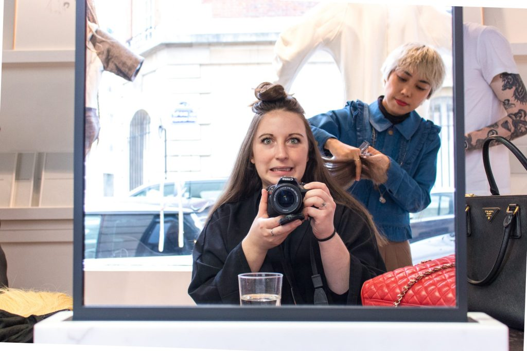 Getting my hair chopped off, Studio Marisol- The Best English Speaking Hair Salon in Paris