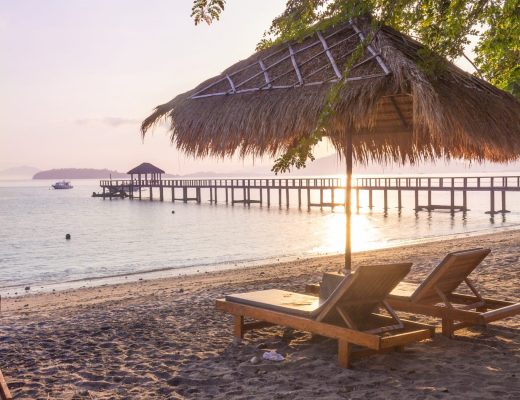 Sunrise, Cocotinos Sekotong- Why You Should Visit Lombok, Indonesia Now