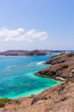 View of Tanjung Aan Bay- Why You Need to Visit Lombok, Indonesia NOW
