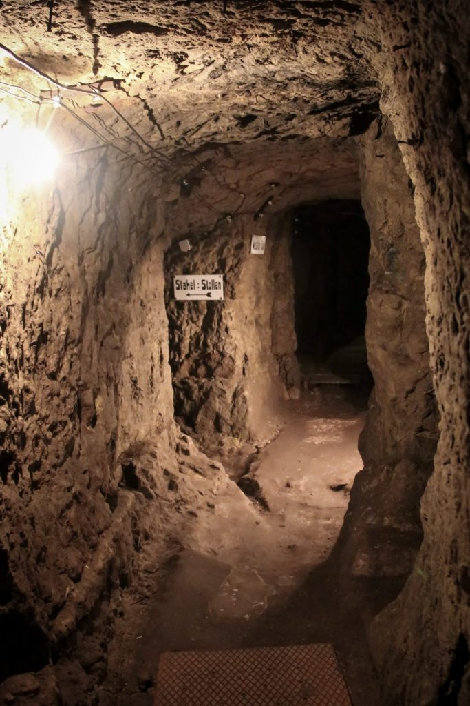 Tunnels on the German side of Vauquois Ridge- 7 Reasons to Visit Lorraine, France