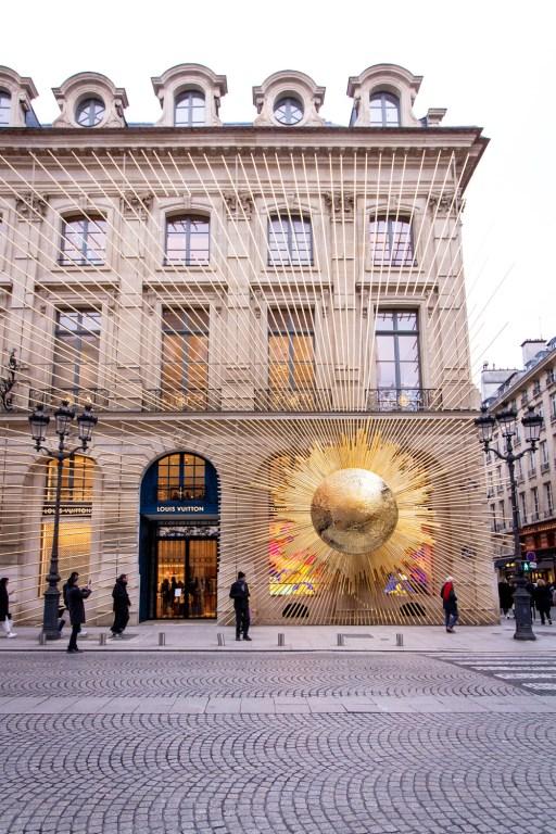 Louis Vuitton at Place Vendome, Paris- Christmas Decorations in Paris