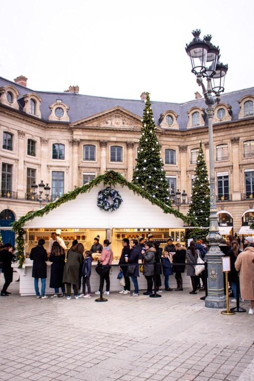 Chalet de Noël by the Ritz Paris- Christmas Decorations in Paris