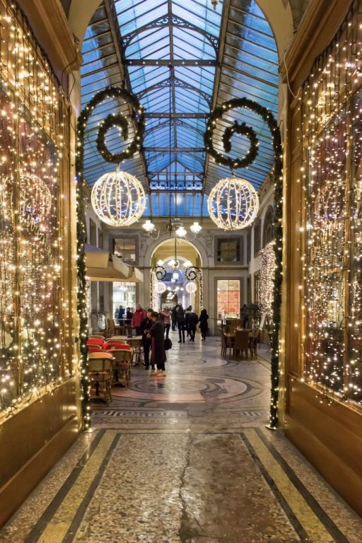 Christmas Decorations in Paris- Galerie Vivienne