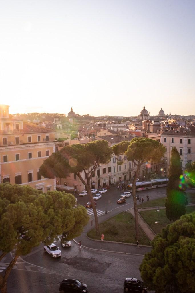 Sunset over Piazza Venezia, Rome- - PHOTO DIARIES: ROME